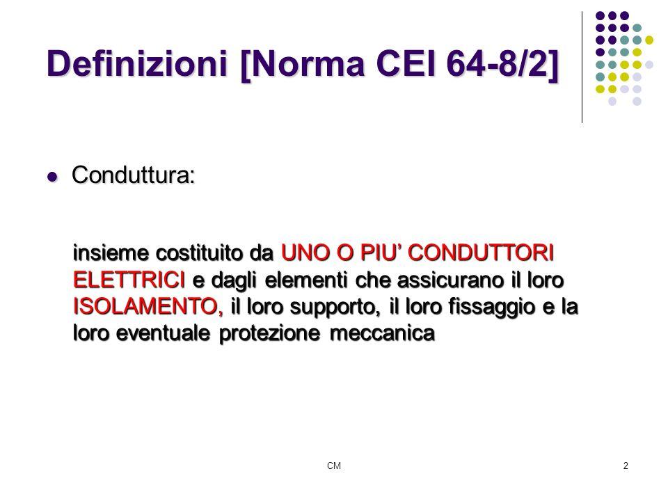 Definizioni [Norma CEI 64-8/2]